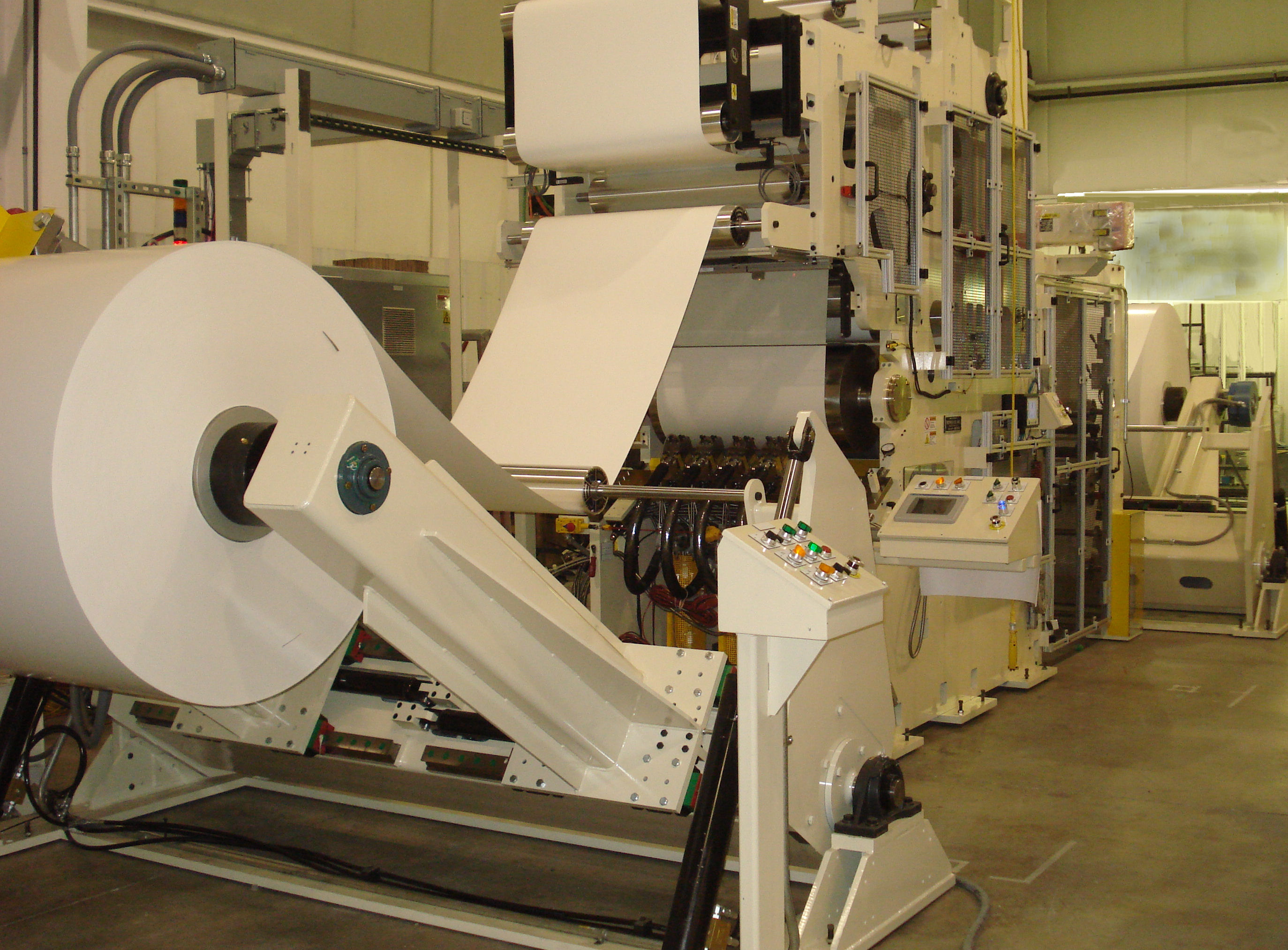 Complete Coating and Printing Line