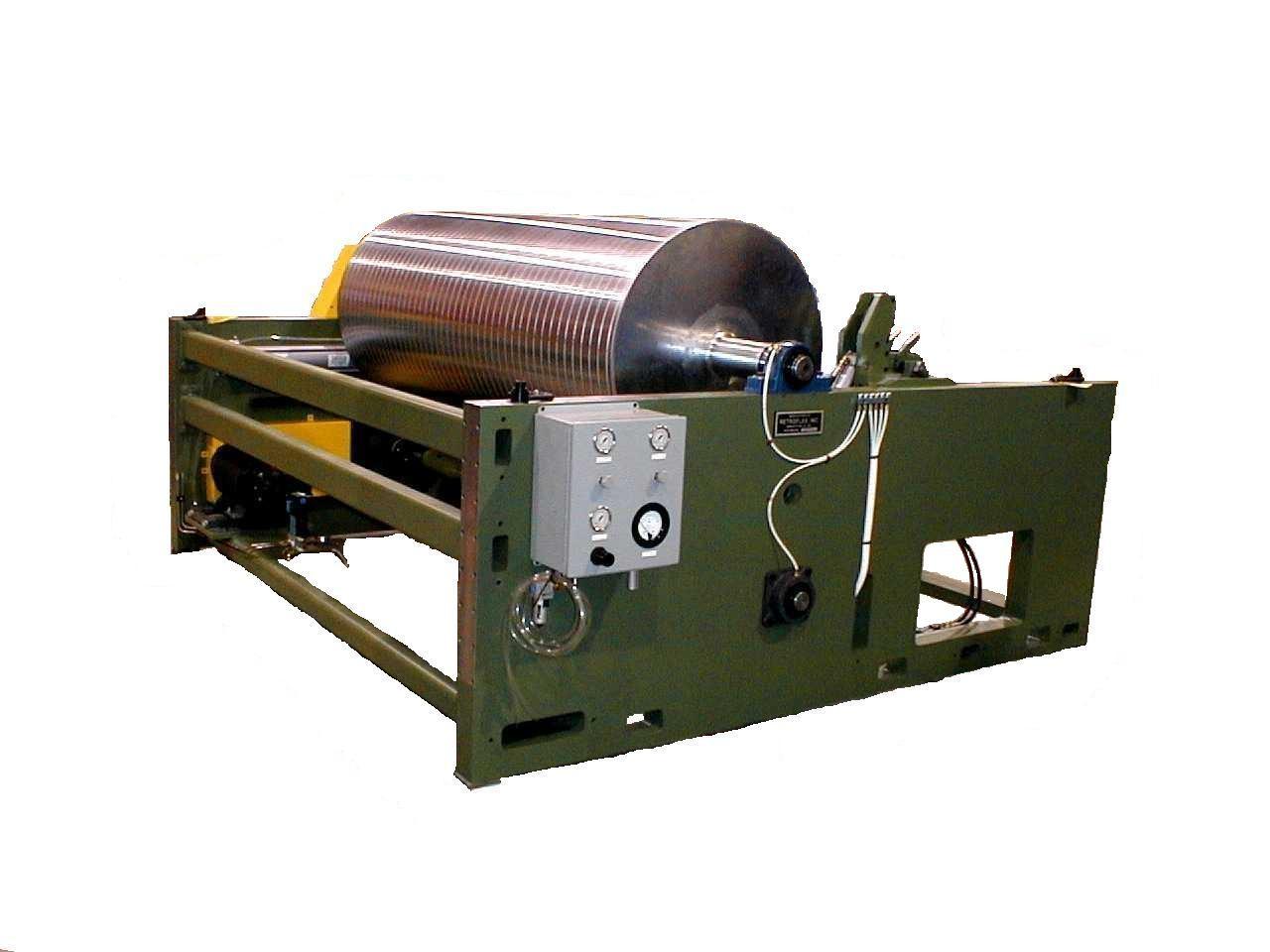 Single Drum 87-inch Surface Rewinder